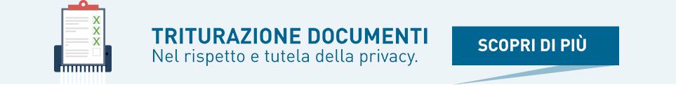 triturazione documenti